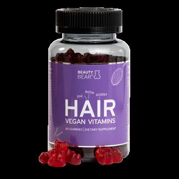 Picture of BeautyBear HAIR Vitamins Norwegian language